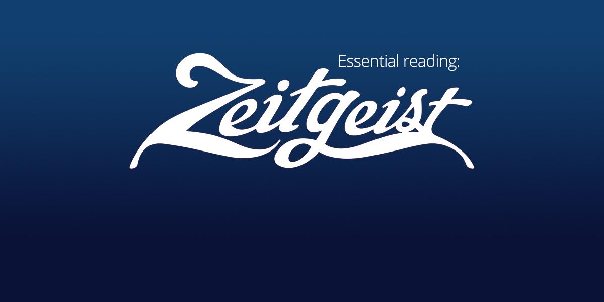 2020's Essential Reading: 'Zeitgeist'
